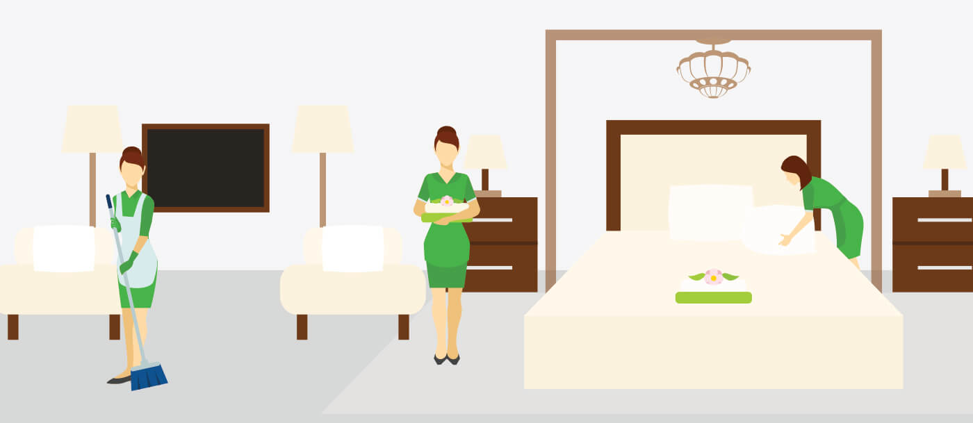 hotel resort housekeeping services in dubai