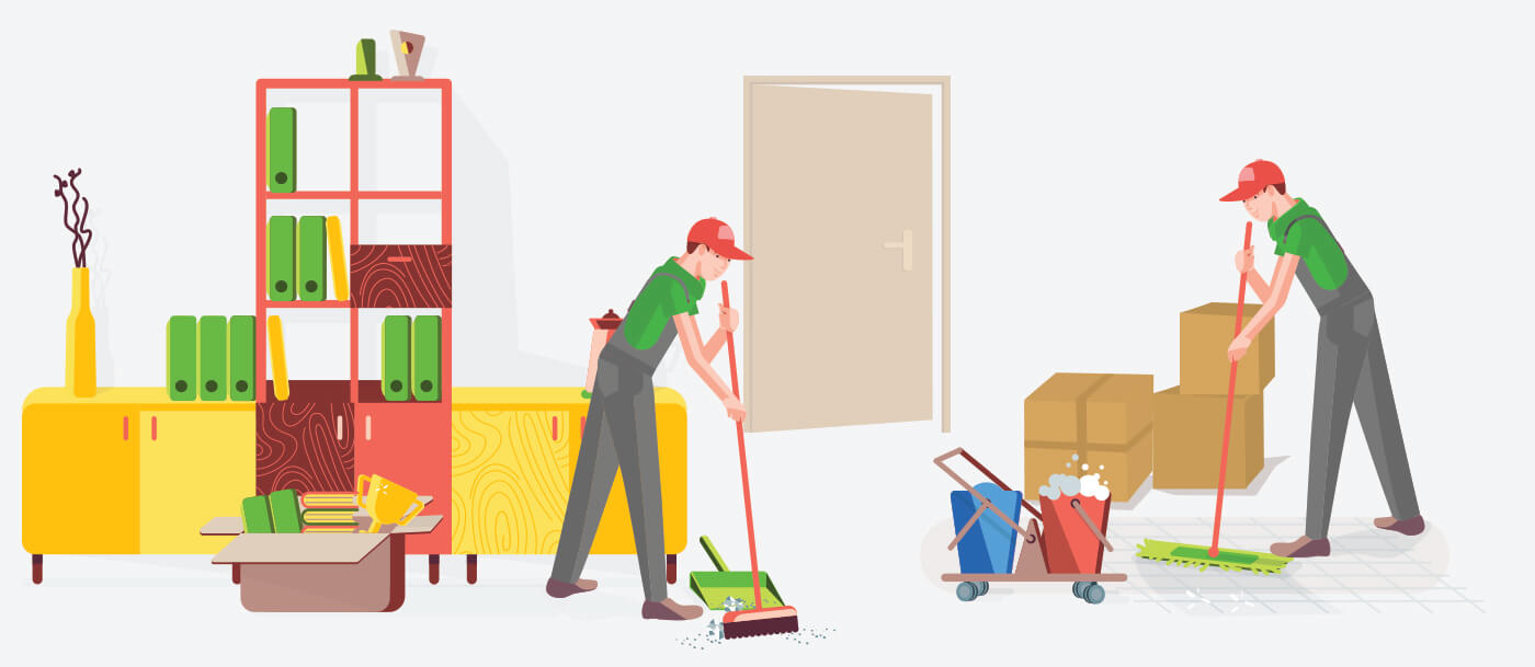 Professional Move In And Move Out Cleaning Services