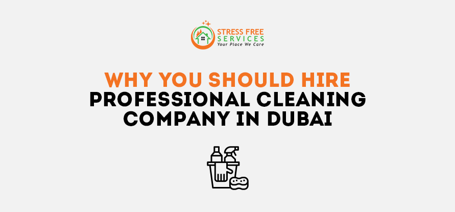 Why You Should Hire Professional Cleaning Company in Dubai