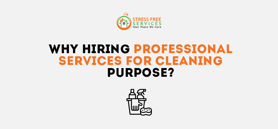 Why Hiring Professional Services for Cleaning Purpose?