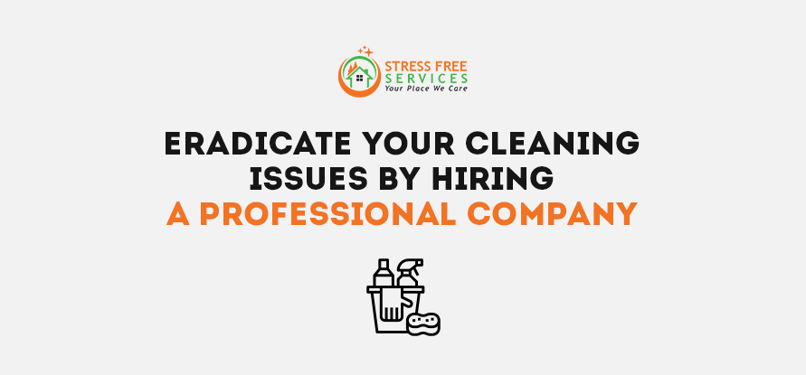 Eradicate Your Cleaning Issues By Hiring a Professional Company