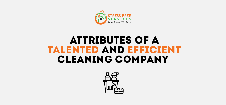 Attributes of a Talented and Efficient Cleaning Company